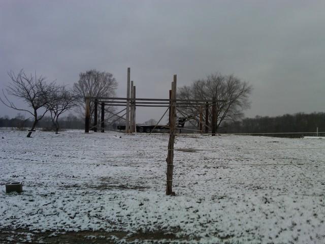 Barn in Progress