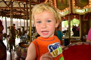 Ian on Carousel